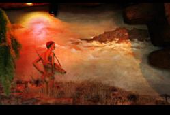 Inkunzi Cave and Zulu Hut